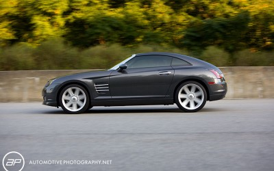 Chrysler Crossfire Track Moving