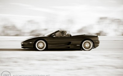 Ferrari 355 Roadster Moving
