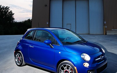 Fiat 500 Exterior Warehouse