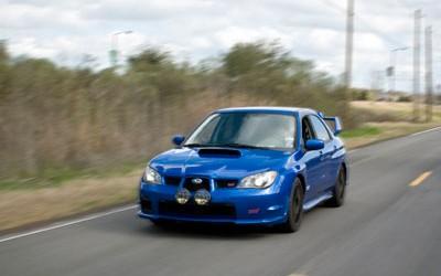 Subaru STI Moving