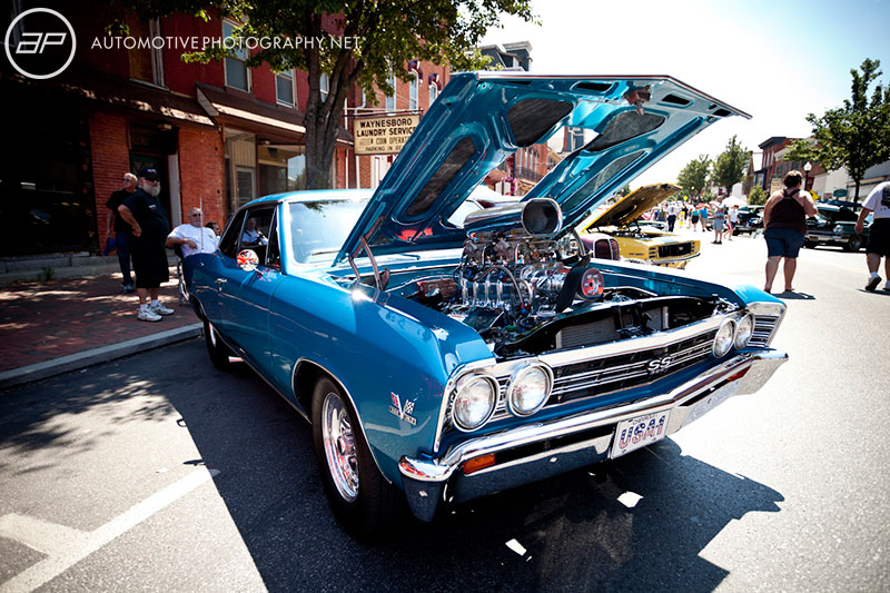 Chevelle SS 396 Engine Blue Waynesboro