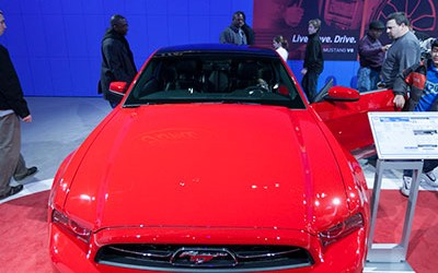 2013 Ford Mustang Glass Roof