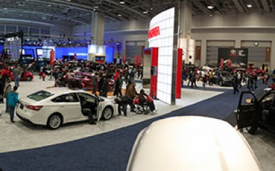 DC Auto Show Panorama
