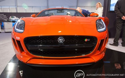 Jaguar F-Type Orange Front