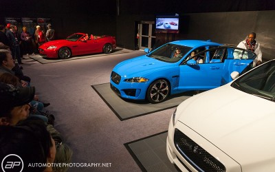 Jaguar X5 & XF-RS