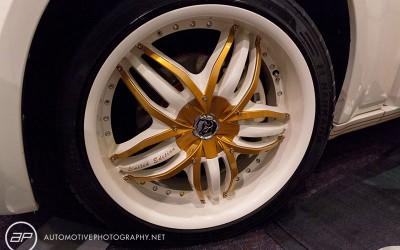 OC Car Show - Custom Painted Wheel