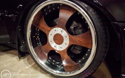 OC Car Show - Custom Wood Wheels