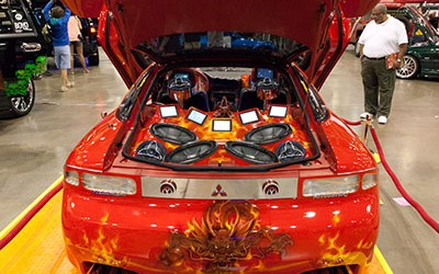OC Car Show - Mitsubishi Eclipse