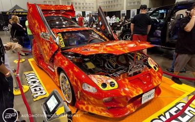 OC Car Show - Mitsubishi Eclipse Flames