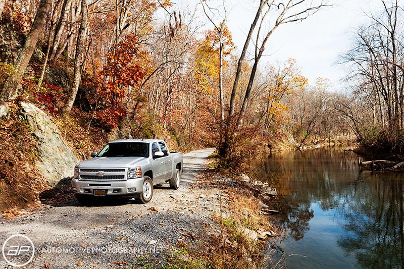 Chevy Silverado Truck - Land Rover Story Challenge