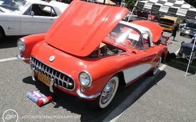 C1 Corvette Red
