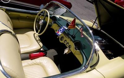 C1 Corvette Yellow Interior