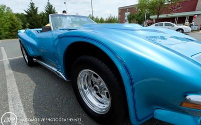 Corvette Blue Side