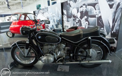 BMW 1956 r60 Motorcycle with Sidecar