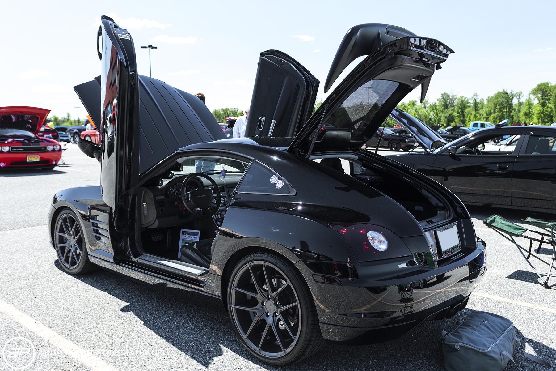 Chrysler Crossfire SRT 6 Coupe Black Custom