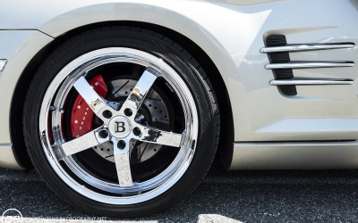 Chrysler crossifre custom wheels