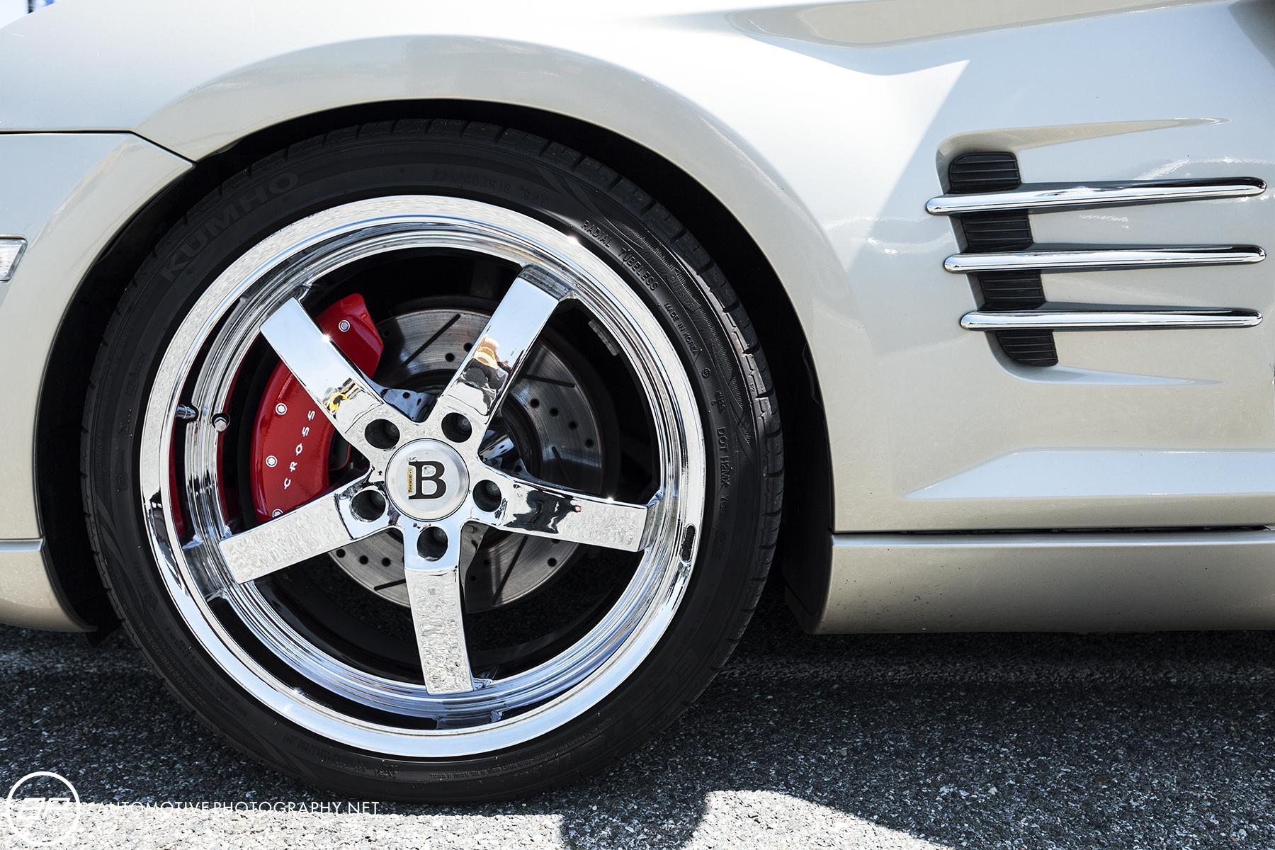 Chrysler Crossifre - Custom Wheels
