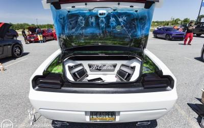 Dodge challenge custom sub amp casper