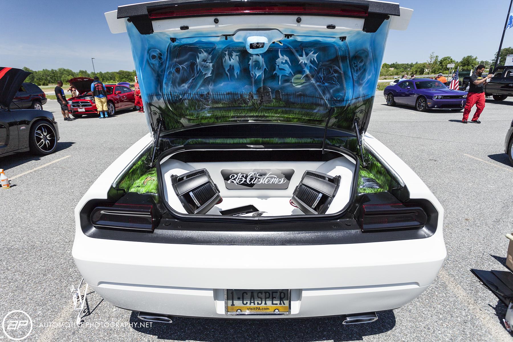 Dodge Challenger Custom Sub Amp - Casper