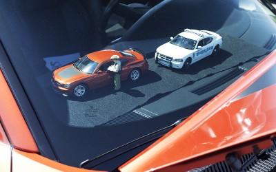 Dodge charger daytona orange