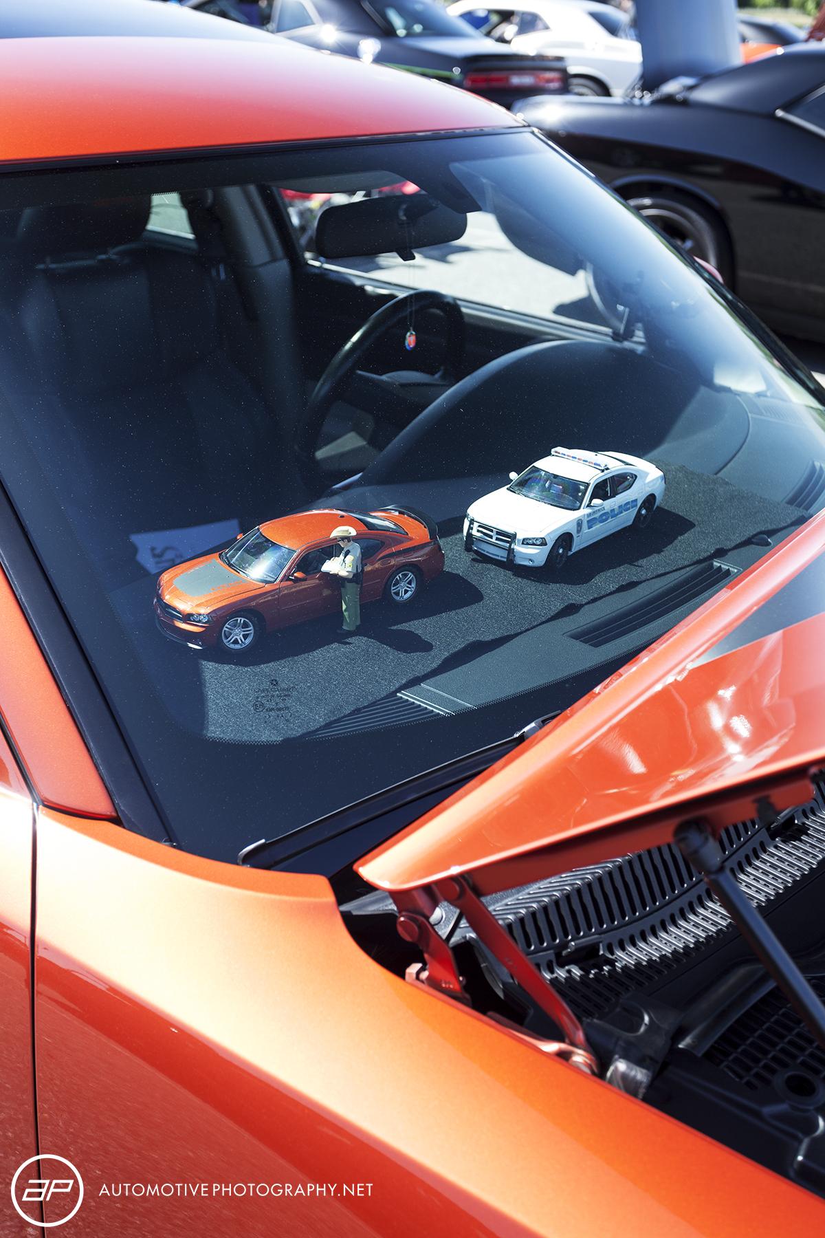 Dodge Charger - Daytona Orange