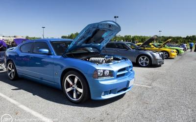Dodge charger SRT 8 super bee blue pearl