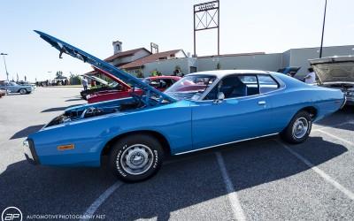 Dodge charger third gen blue