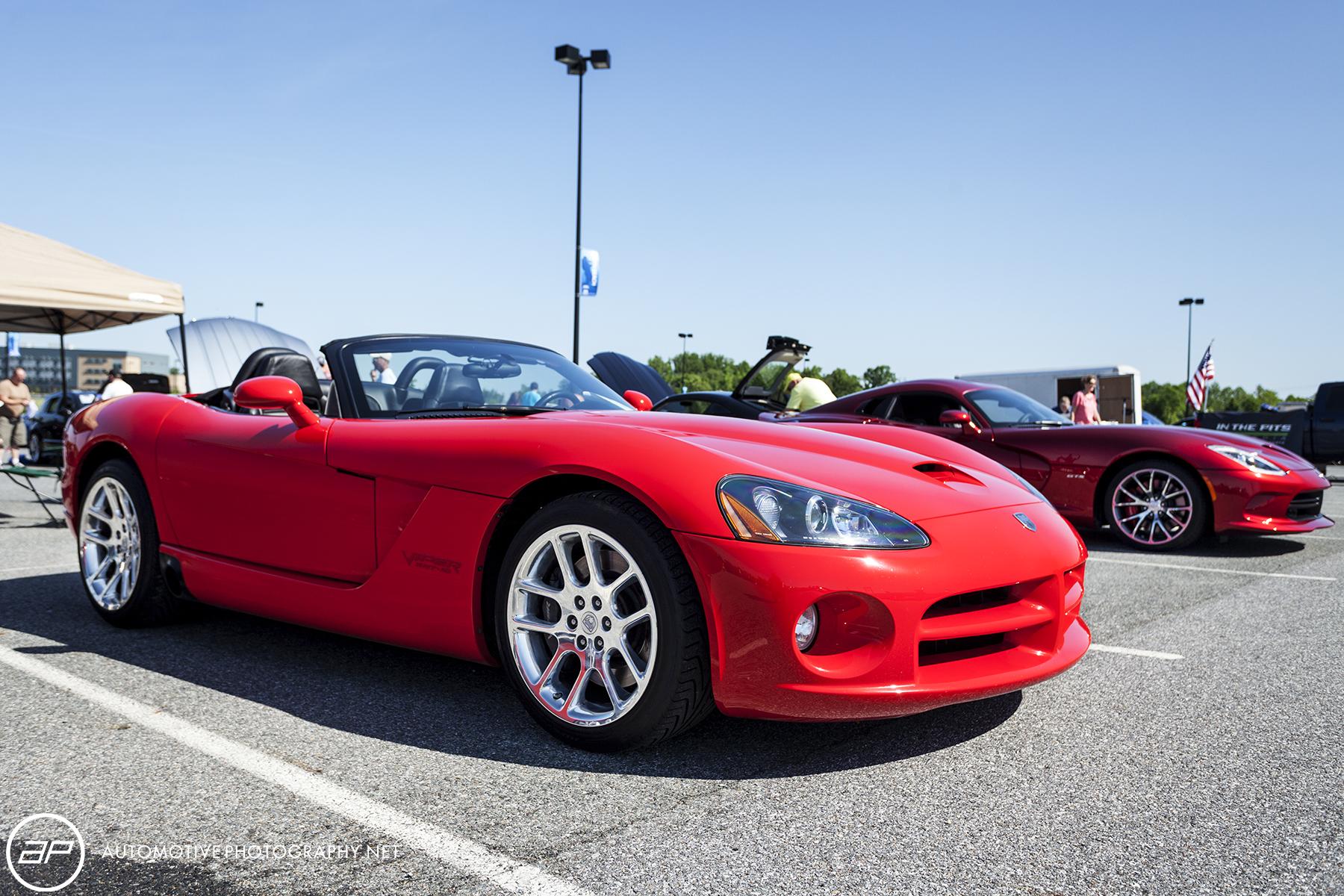 Dodge Viper SRT 10 Red Convertible