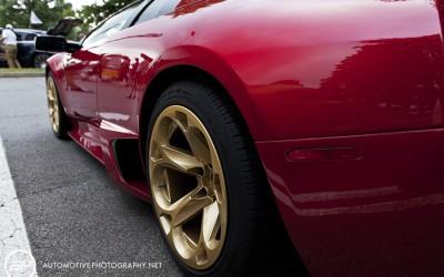 Lamborgjini Murcielago Roadster - Red