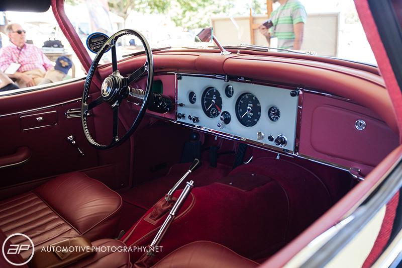 1958 Jaguar XK 1505 Roadster - Red Interior