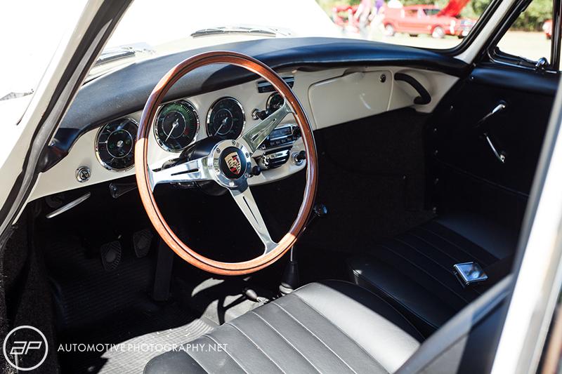 Porsche 356C Coupe - White - Interior