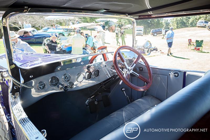 1919 Pierce Arrow Model 66A 4 Don Lee Touring - Interior