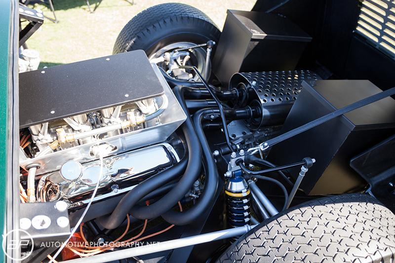 Ford GT40 MK1 - Road Car - Green - Engine
