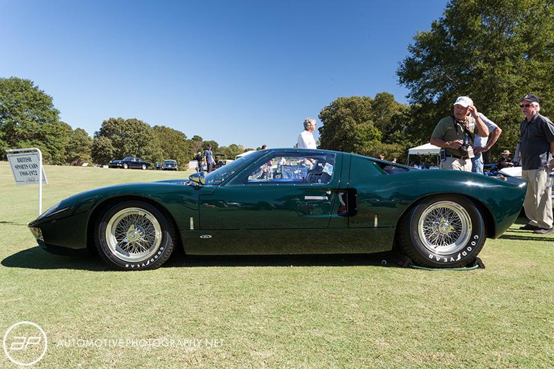 Ford GT40 MK1 - Road Car - Green - Side