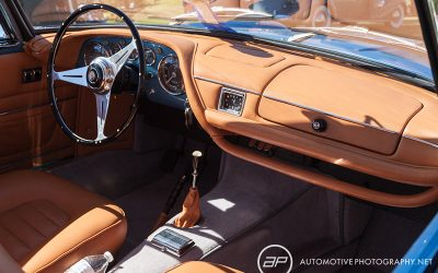 1961 maserati 3500 gt coupe coachwork by frua - interior