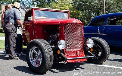 Desoto Roadster Hot Rod Red