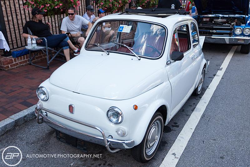 Fiat 500 Original White Cloth Roof