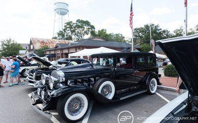 Cadillac Series 355 Sedan Black