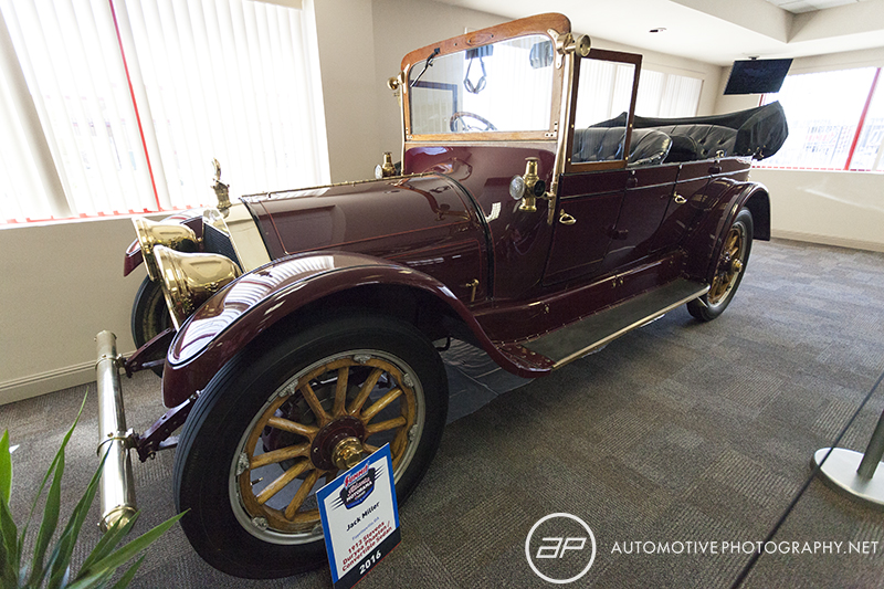 1913 Stevens Duryea Phaeton Convertible Sedan