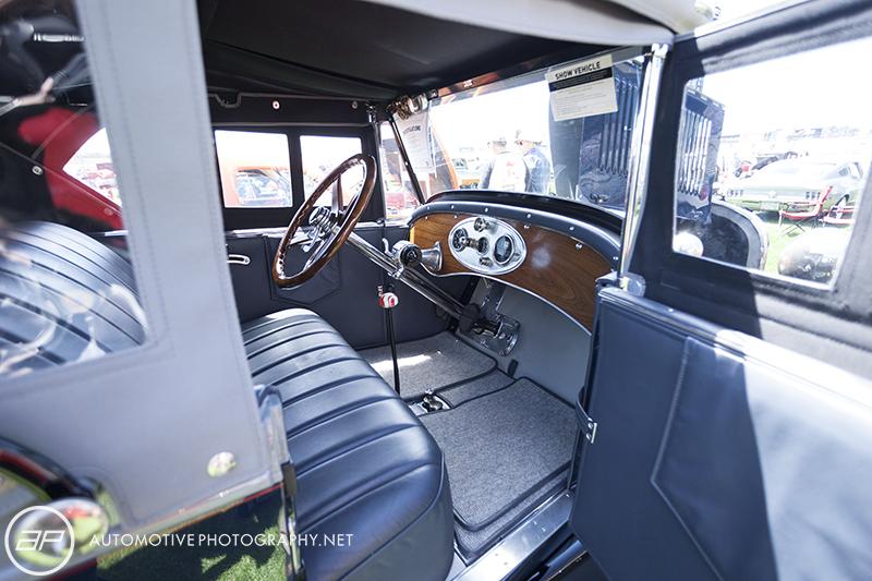 1925 Reo Model T-6 - Interior
