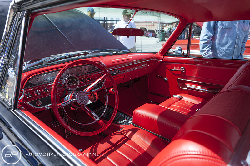 1961 Ford Galaxie Starliner Red Interior