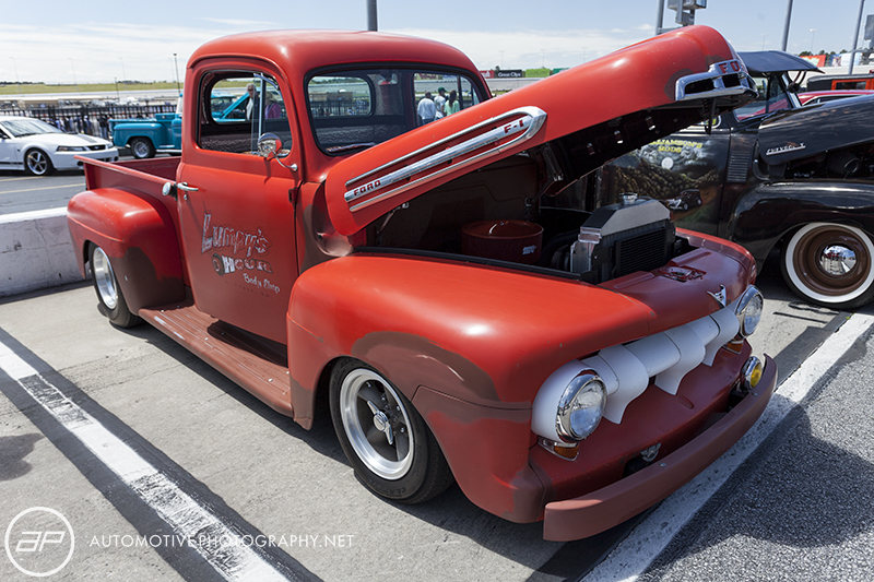 Ford F1 Pickup Red