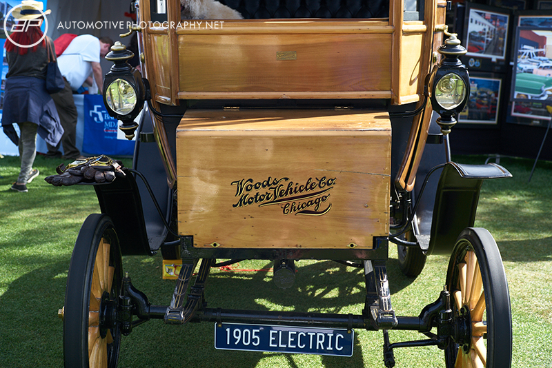 1905 Woods Electric Style 214A Queen Victoria Brougham