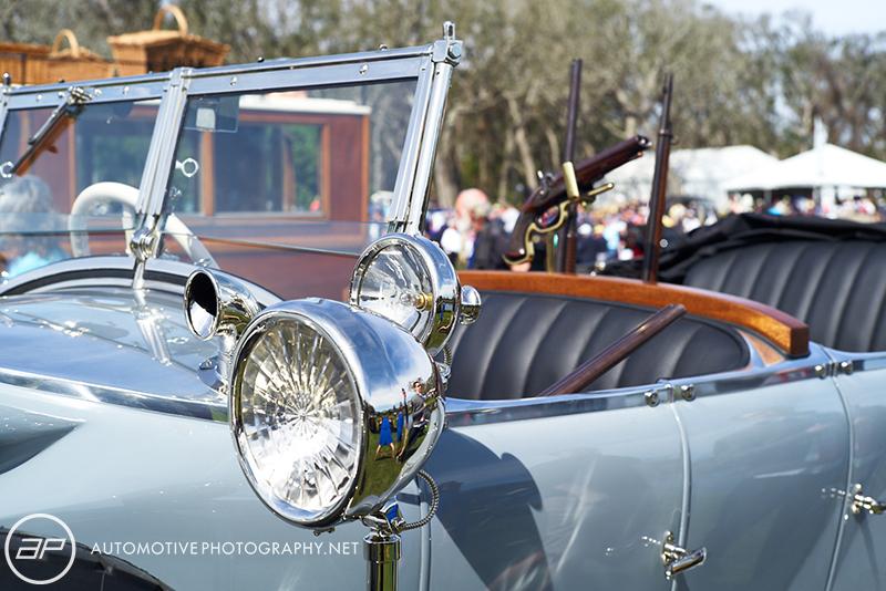 1925 Rolls Royce Phantom I Barker Tourer Tiger Hunting Car