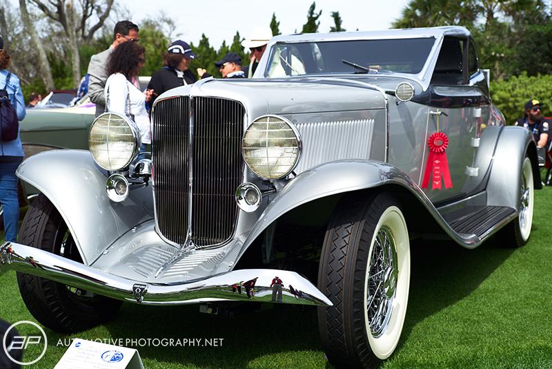 1933 Auburn 8 105 Salon Retractable Hardtop