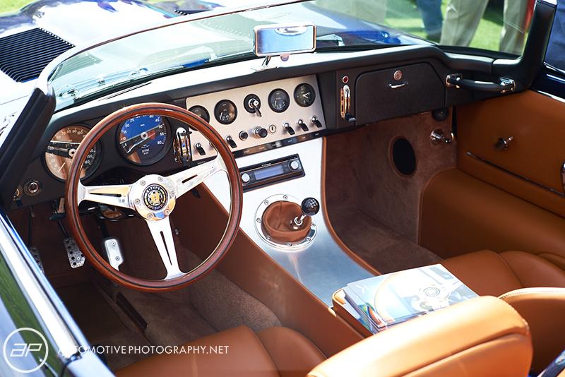 Eagle Speedster Jaguar XKE Interior