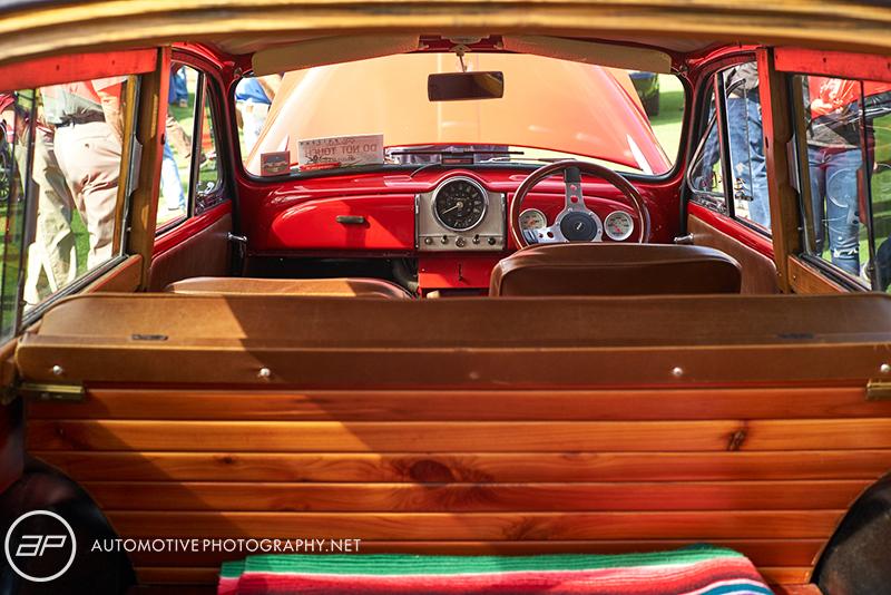 Vintage Wagon Interior - Amelia Island Cars and Coffee